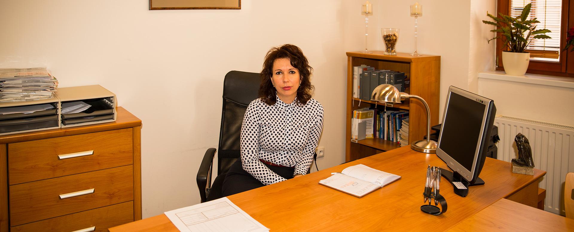 Mgr. Andrea Kuchařová - advokátka z Uherského Hradiště
